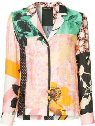 Stine Goya multi-print shirt