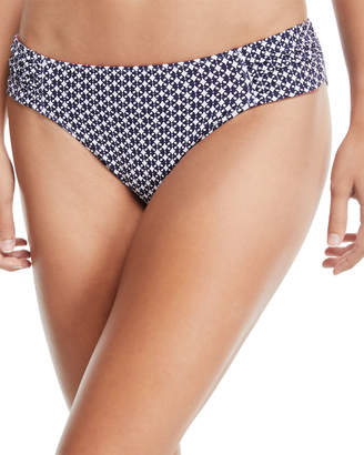 Tommy Bahama Petals of Paradise Reversible Side-Shirred Hipster Swim Bikini Bottoms
