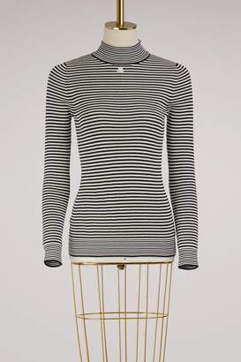 Courreges Sriped sweater