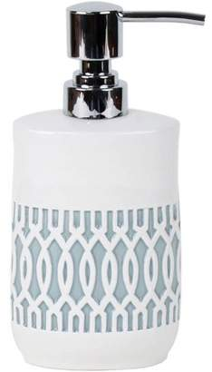 Better Homes & Gardens Windsor Lattice Ceramic Lotion Dispenser