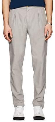 Marco Pescarolo Men's Cotton-Blend Basketweave Trousers