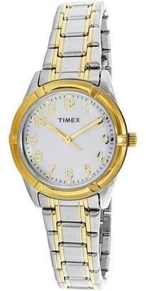 Timex Women's Easton Avenue TW2P76100 Silver Stainless-Steel Quartz Dress Watch