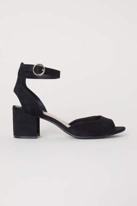 H&M Sandals - Black - Women