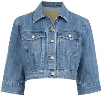 MICHAEL Michael Kors cropped bell sleeve jacket