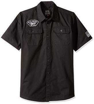 Metal Mulisha Men's Pits Woven Shirt