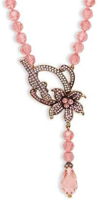 Heidi Daus Women's Flower Favorite Crystal Beaded Necklace