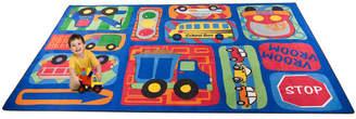 Kid Carpet Vroom Vroom Car Play Area Rug Rug