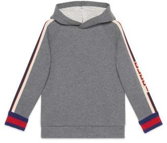 Gucci Children's sweatshirt with jacquard trim