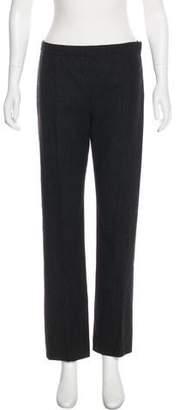Narciso Rodriguez Wool Mid-Rise Pants