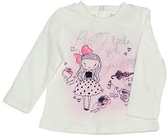 GUESS Girl's Graphic Cotton Top