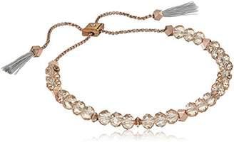 Vera Bradley Geo Facets Slider Strand Bracelet