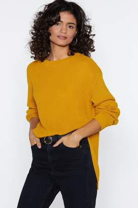 Nasty Gal Call Knit Even Sweater
