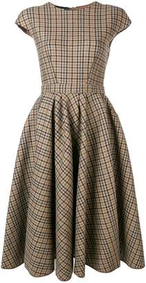 Rochas formal fit-and-flare dress