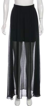 Alice + Olivia Layered Maxi Skirt