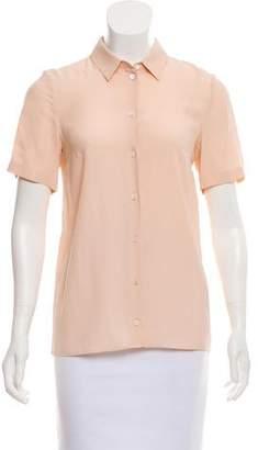 No.21 No. 21 Lace-Paneled Short Sleeve Top