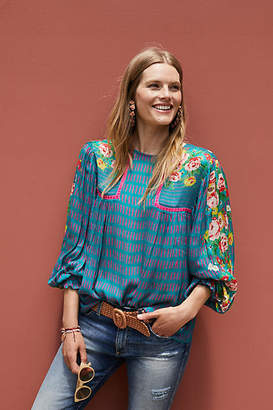 Bl-nk Eclectic Peasant Blouse