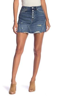 Free People We the Free by Denim A-Line Skirt