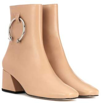 Dorateymur Nizip leather ankle boots