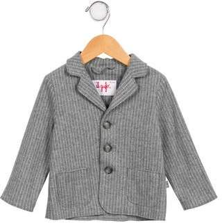 Il Gufo Boys' Striped Felpa Jacket