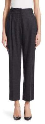 Emporio Armani Pleated Flannel Pants