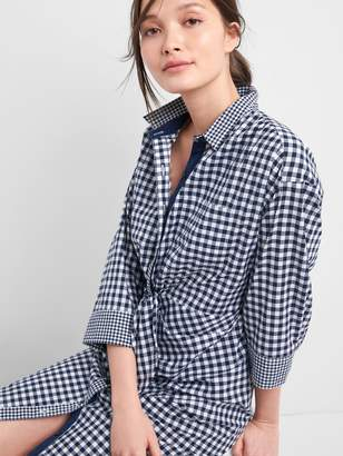 Gap | Sarah Jessica Parker Gingham Shirtdress