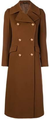 Tagliatore long buttoned coat