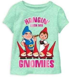 Sherlock Gnomes Little Girl's Hangin' with My Gnomies Tee