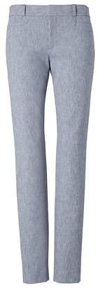 Banana Republic Petite Sloan Skinny-Fit Texture Ankle Pant