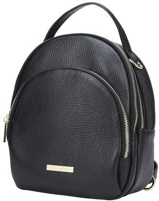 Womens Black Leather Backpack - ShopStyle UK 911bb15fb83fb