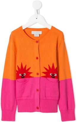 Stella McCartney colour block cardigan