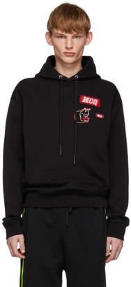 McQ Black Varsity Hoodie