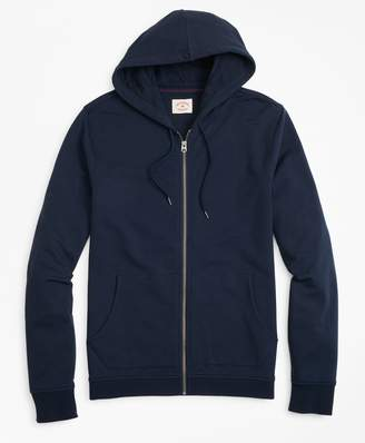 Brooks Brothers French Terry Zip-Up Hoodie