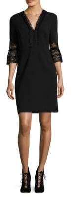 Elie Tahari Ricky Bell Sleeve Dress