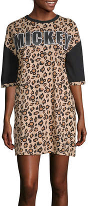 Disney Separates Womens Short Sleeve Round Neck Nightshirt