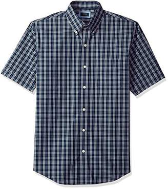 Arrow 1851 Men's Short Sleeve Hamilton Poplin Shirt