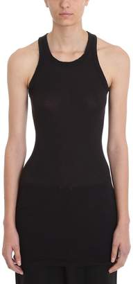 Drkshdw Rib Tank Black Cotton Topwear