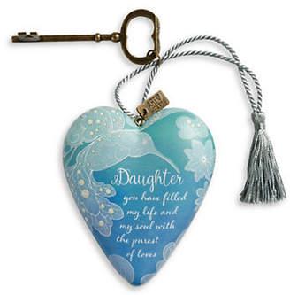 DEMDACO Daughter Art Heart Ornament