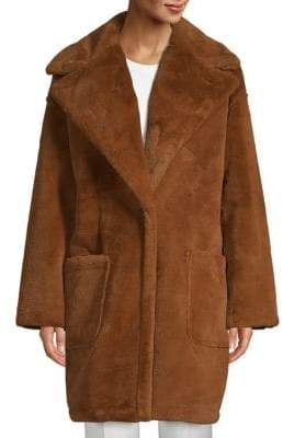 Oversized Plush Teddy Coat
