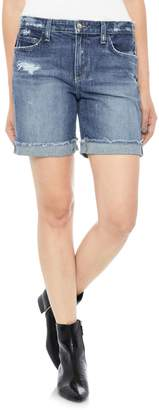 Joe's Jeans Cuff Denim Bermuda Shorts
