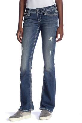 Rock Revival Distressed Bootcut Jeans