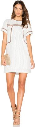 Michael Stars Dobby Stripe Dress $188 thestylecure.com