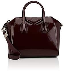 Givenchy Women's Antigona Small Patent Leather Duffel Bag - Purple