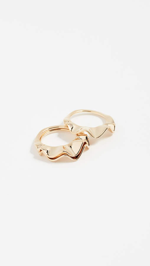 Kate Spade Frilled to Pieces Stackable Rings