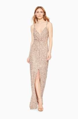 Parker Luna Strappy Slit Dress