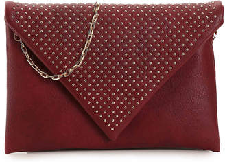 Urban Expressions Laine Clutch -Charcoal(Accessories) - Women's