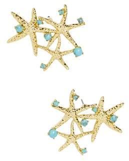 BaubleBar Syvota Starfish Cluster Stud Earrings