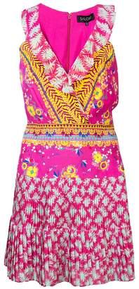 Saloni flared day dress