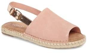 Toms Clara Slingback Sandal