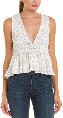 MinkPink Promise Spotty Top