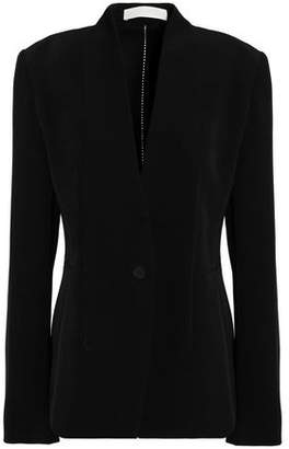 Dion Lee Open Knit-Trimmed Crepe Blazer
